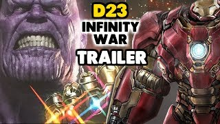 Avengers Infinity War Trailer Análisis D23 Expo 2017