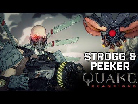 Quake Champions - Strogg & Peeker Lore Trailer