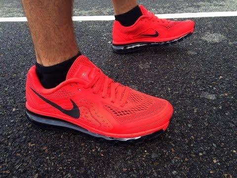 Nike Air Max 2014 Laser Crimson Review & On Feet