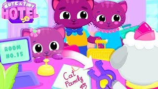 Fun Baby Care Kids Games - Cute & Tiny Hotel - Learn Colors, Animal Care Fun Games For Kids