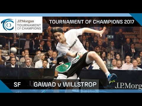 Squash: Gawad v Willstrop - Tournament of Champions 2017 SF Highlights