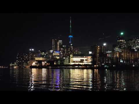 Toronto, Canada skyline at night