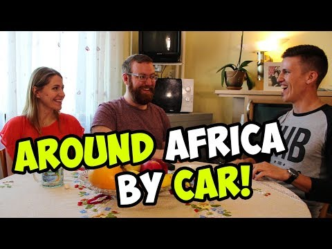 1.5 YEARS AROUND AFRICA BY CAR. AN INTERVIEW W/ ROMAN KOROLEV.