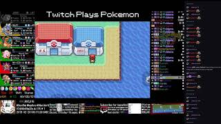 Twitch Plays Pokémon Anniversary Burning Red - Hour 175 to 176