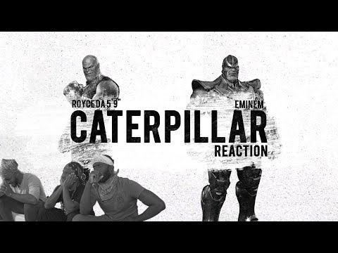 Royce da 5'9 - Caterpillar (feat. Eminem & King Green) Reaction