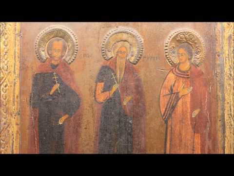 Продажа икон! Икона старинная Собор Архангела Михаила. DR0329 .