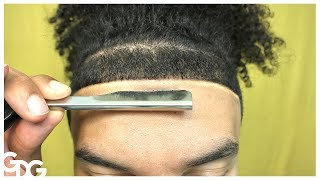 How To Make Your Hairline Straight