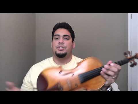 Ebay Violin Discription Video