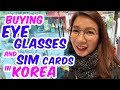 Shopping for Eye Glasses & Sim Cards in Korea 👓 📱 | Seoul Fall 🍁 Day 2 Vlog