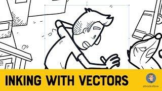 Vector Inking in Affinity Designer (iPad) - Inktober Special