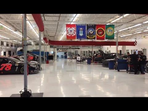 7NEWS visits Furniture Row racing