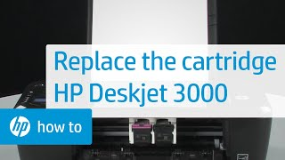 Replacing a Cartridge - HP Deskjet 3000 Printer(Don't know which cartridge you need? Visit http://www.suresupply.com. Learn how to replace a cartridge in the HP Deskjet 3000 (J310A), 2000 (J210A), or 1000 ..., 2011-09-27T21:29:36.000Z)