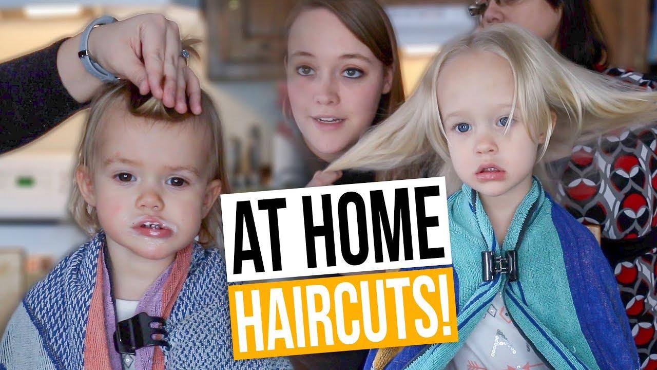My Mom Teaches Me To Cut My Kids Hair How To Cut Thin Toddler Hair
