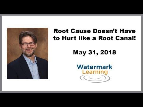 Vídeo do Webinar da Watermark sobre Causa Raiz já disponivel!