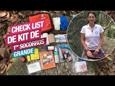 Check List para Kit de 1os Socorros Grande