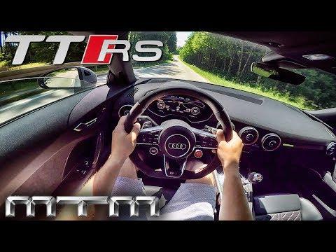 Audi TT RS 2.5 TFSI 465HP MTM POV Test Drive by AutoTopNL