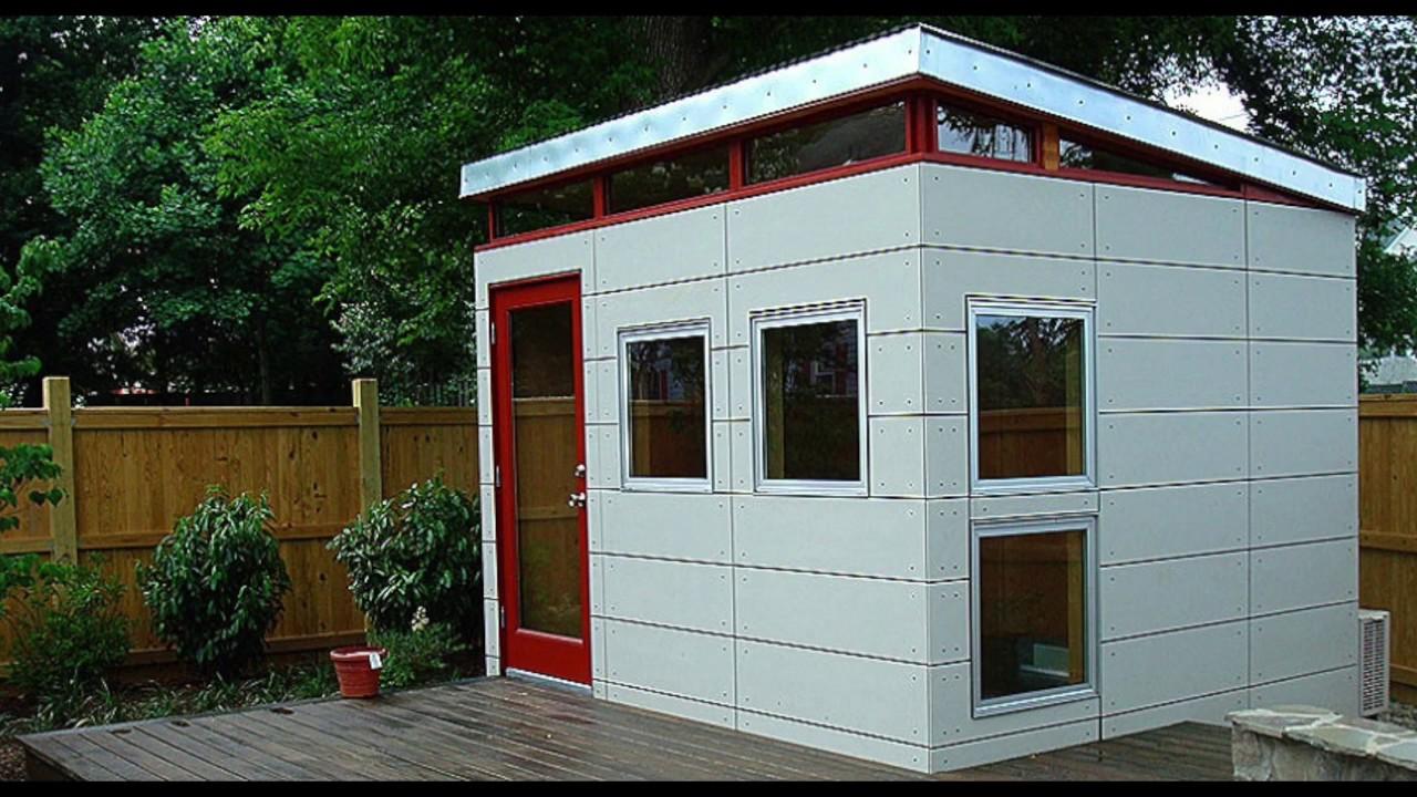 Modern Shed Design Idea Gallery - VizX Design Studios - (855) 781 ...