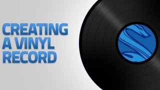 Photoshop Tutorial: Creating a Vinyl Record