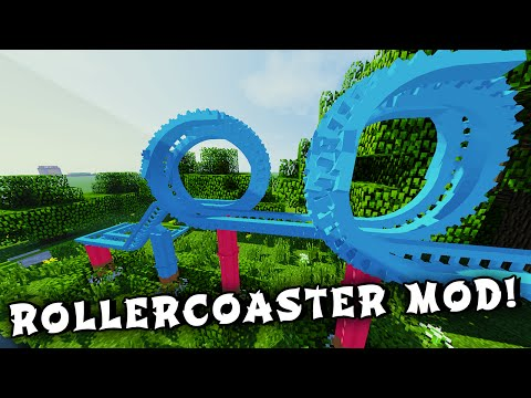 minecraft rollercoaster mod download
