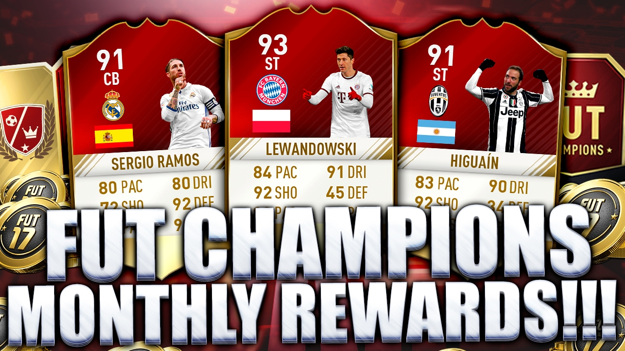 how to get gold monthly rewards fifa 17