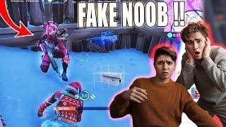 NOOB bekommt ersten Sieg in Fortnite! *SCHWITZER*