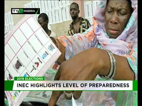 2019: INEC highlights level of Preparedness