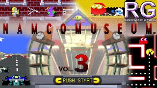Namco Museum Vol.3 - PlayStation 1 - Museum & Arcades Gameplay [720p]