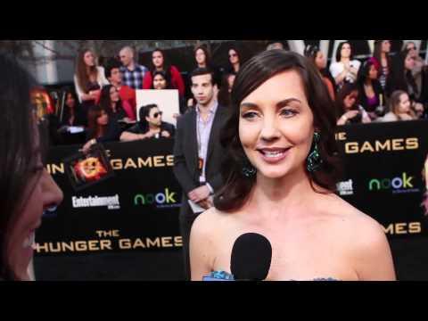 Raiko Bowman Peeta's Mom  The Hunger Games Premiere