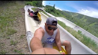 Barrel Roll Wipeout at Alpine Slides | Park City, Utah