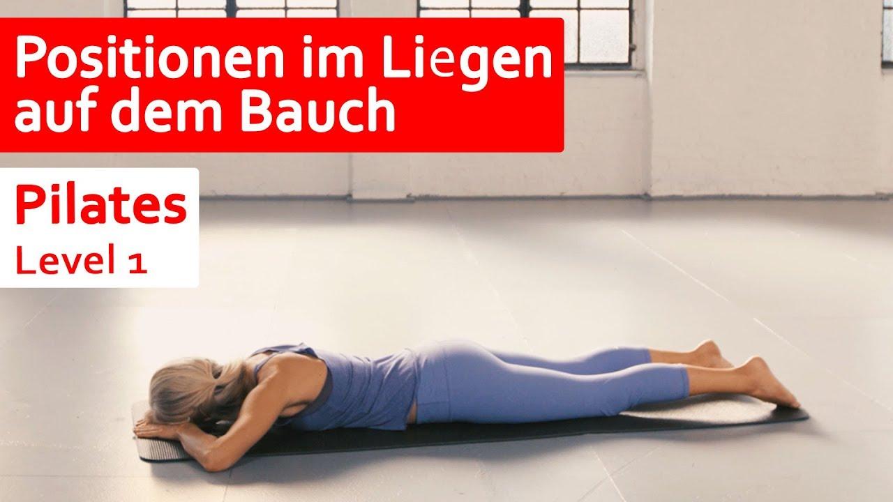 Täglich Fit: Positionen im Liegen auf dem Bauch || Level 1