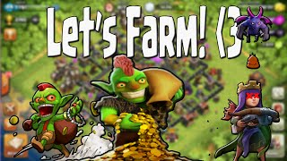 Clash of Clans - Lets Farm ep12| Whole Lot of Upgrades! | GoWiWi War Attack!