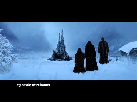 The Chronicles of Narnia: The Lion, The Witch and The Wardrobe -  Witches Castle Reveal Shot Build