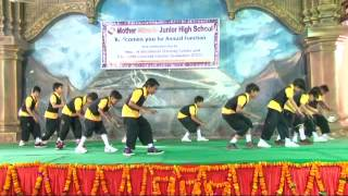 Mother Miracle School Rishikesh 2014: Annual Function  Boys Dance Performance