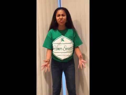 Zeta Sampson OCSA Musical Theater Audition