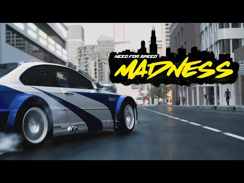 NEED FOR SPEED MADNESS 2021 REVEAL TRAILER ( FAN MADE )