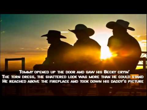 Kenny Rogers - Coward Of The County - Lyrics Video