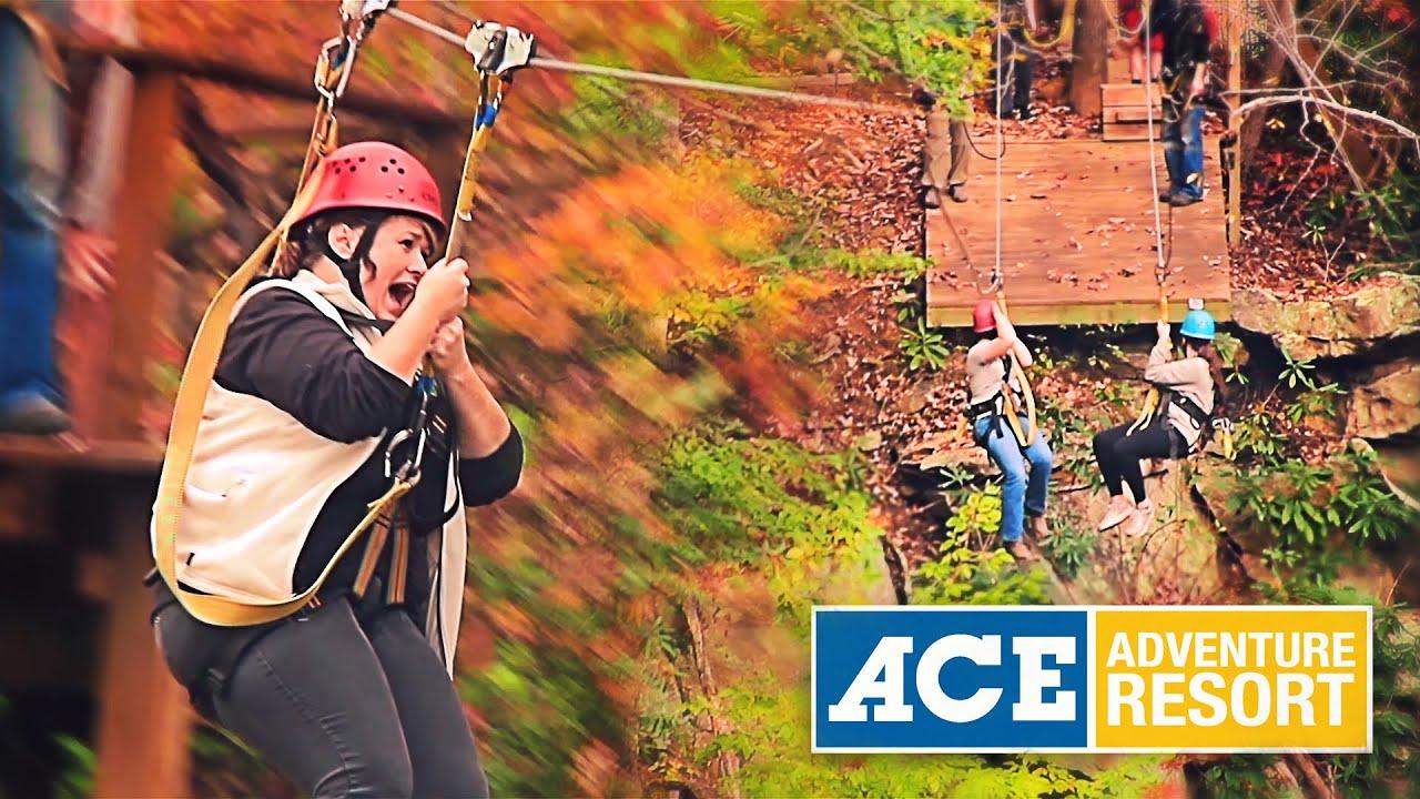 Ace Adventure Resort Zip Line Canopy Tours Youtube
