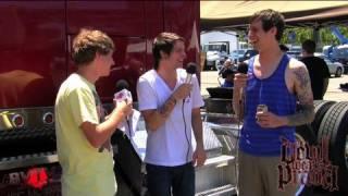 The Devil Wears Prada Interview #1 at Warped Tour '09 | BVTV Music