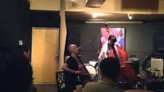 2014.6.12@なってるハウス インプロネコ集会Vol.24 森重靖宗(cello) 佐...