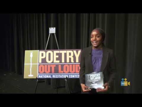 SCOE: Poetry Out Loud 2019 Winner - Naomi Dillard