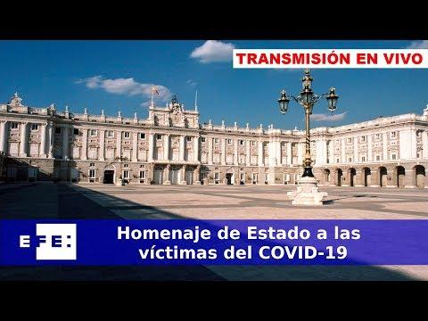 [DIRECTO] Homenaje de Estado a las víctimas del COVID-19