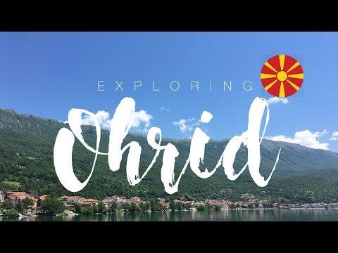 TRAVEL VLOG #001 - OHRID, MACEDONIA - 6TH & 7TH JUNE 2018 | SUN, SEA & CITY