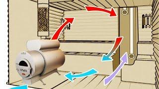 Вентиляция бани(Как правильно сделать вентиляцию в бани. Ответы на вопросы с Форума Кубанской Банной Ассоциации. http://forum-teplod..., 2016-03-29T13:14:20.000Z)