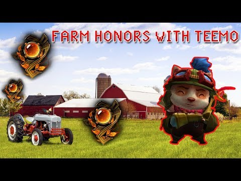 How to get honor in League of Legends with Teemo - the most important thing in the game