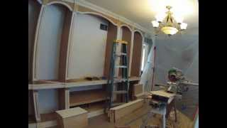 Bookcase Time Lapse Build Woodworking