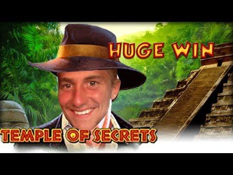 BIG WIN!!!! Temple of Secrets big win - Casino - Bonus round (Casino Slots) From Live Stream