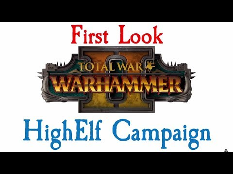 FIRST LOOK HIGH ELF CAMPAIGN!