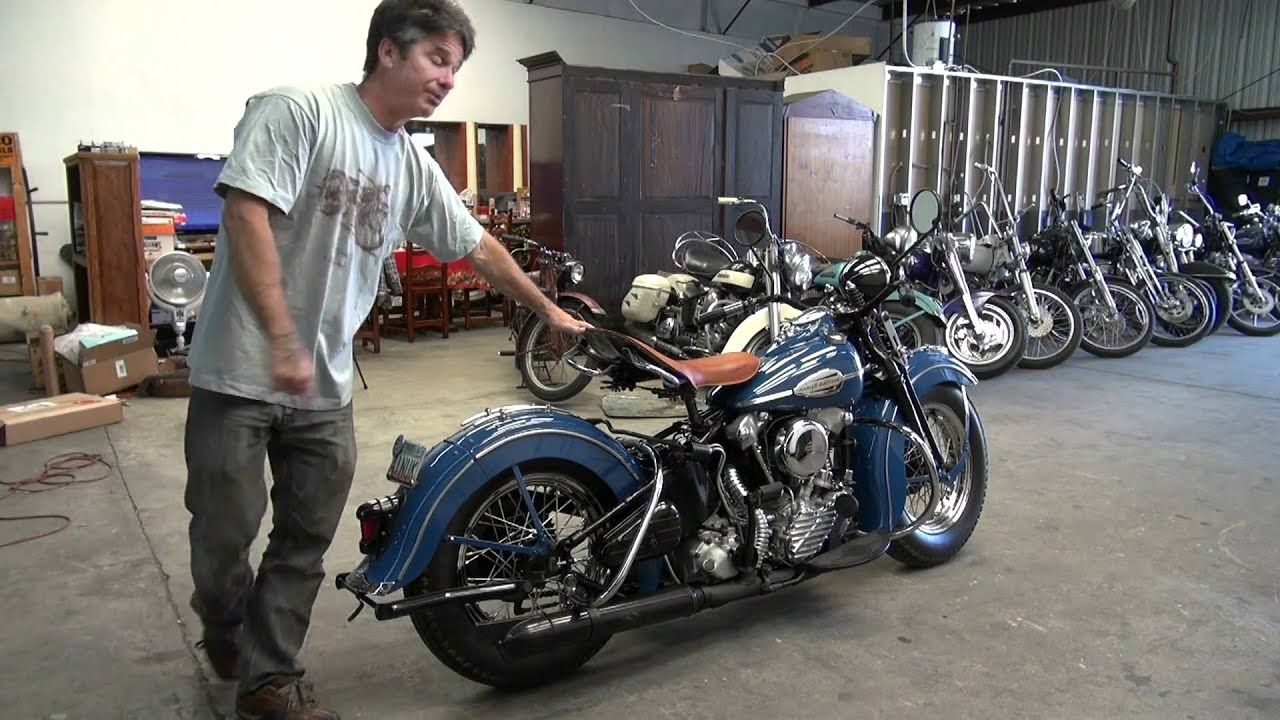 Harley Davidson Knucklehead  A Vendre