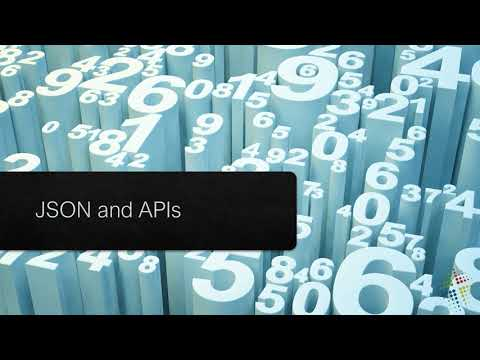 JSON and APIs