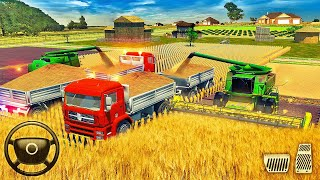 Farm Truck Driving School 2018 - Real Tractor Farming Games - Android Gameplay